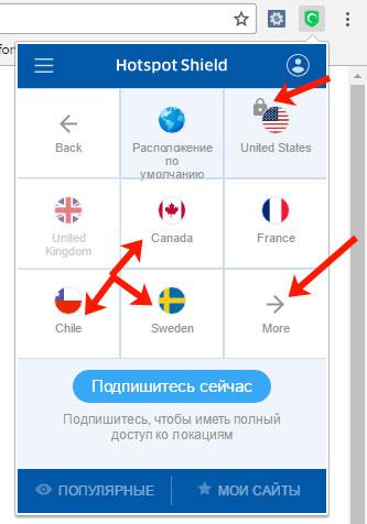 Обзор VPN-расширений для браузера Гугл Хром