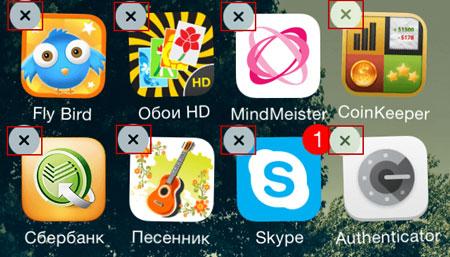 Устройство iOS