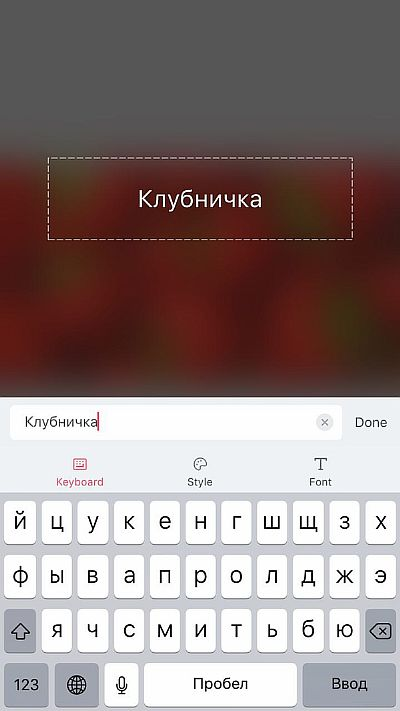 Напишите текст