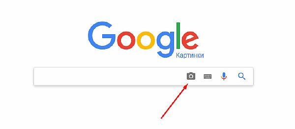 Интерфейс сервиса Google Картинки