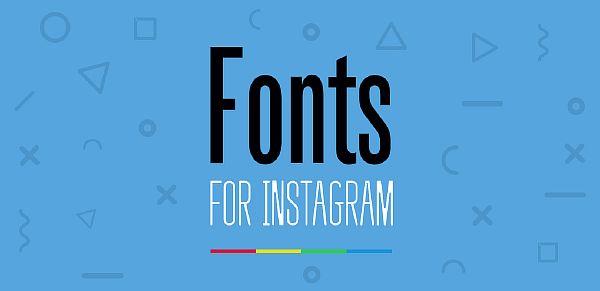 Различные шрифты в Инстаграм