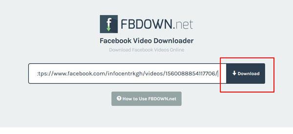 """Выбор кнопки """"Download"""""""