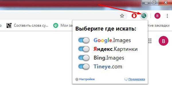 Варианты поисковых программ