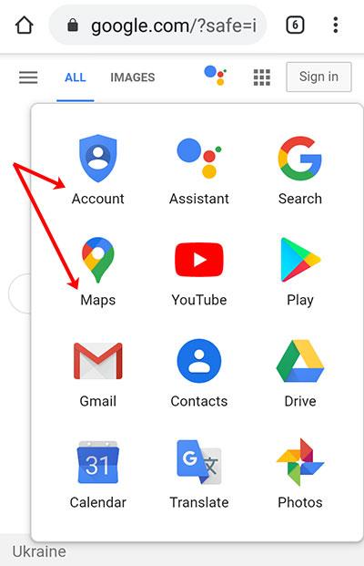 Сервисы Гугл на английском